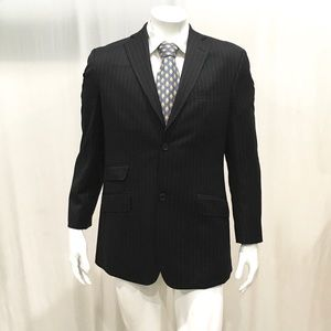 4e434c55010fb Ted Baker Suits   Blazers - Ted Baker Men s Navy Striped 2 Button Blazer
